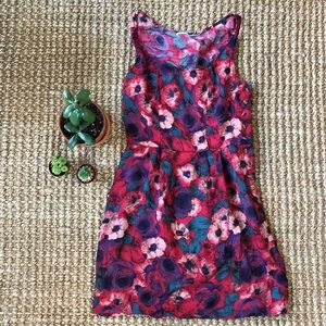 Floral Fit and Flare lightweight dress!